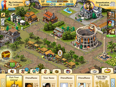 City of Wonder Facebook Social Game