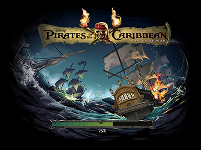 Pirates of the Caribbean Facebook and Mobile Social Game